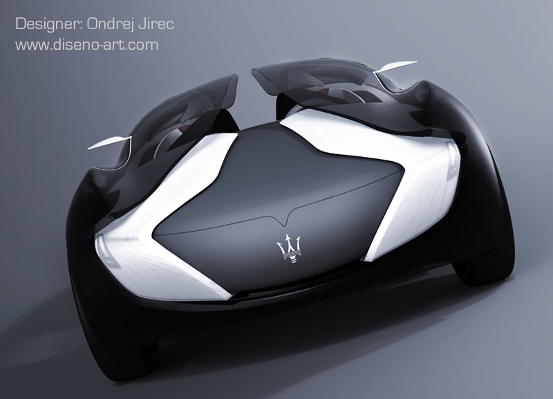 Maserati Tramontane Concept Cars Diseno Art