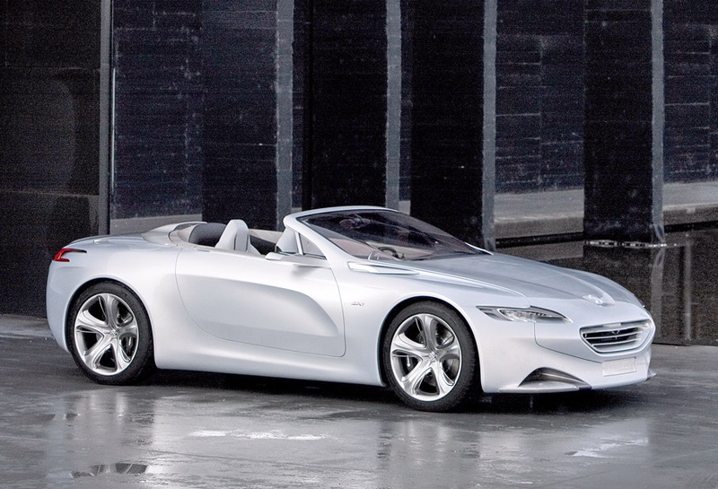 Peugeot Sr1 Concept Cars Diseno Art
