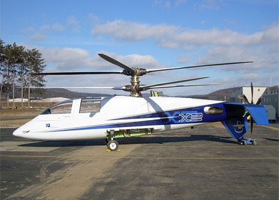 Sikorsky X2 Worlds Fastest Helicopter