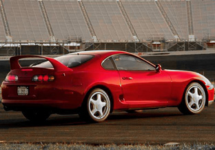 Toyota Supra Twin Turbo rear view