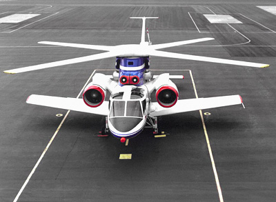 Rotor Systems Research Aircraft (RSRA) X-Wing aircraft