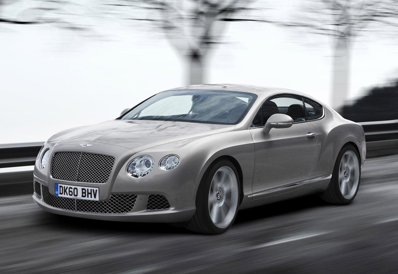 2011 Bentley Continental Gt Sports Cars