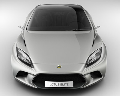 2014 Lotus Elite hybrid sports car