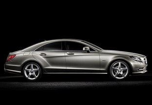 2012 Mercedes-Benz CLS side view