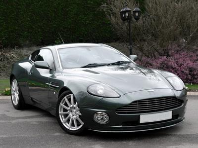 Aston Martin Vanquish V12   Sports Cars