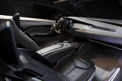 Cadillac Urban Luxury Concept interior