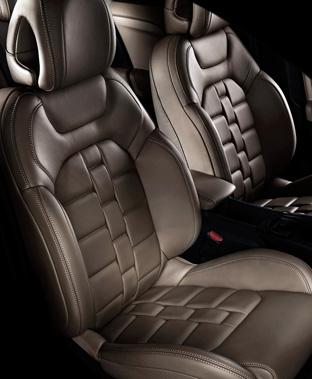 Citroen DS4 seats