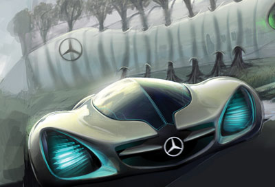 Mercedes Biome Concept Cars Diseno Art