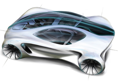Mercedes-Benz Biome concept car