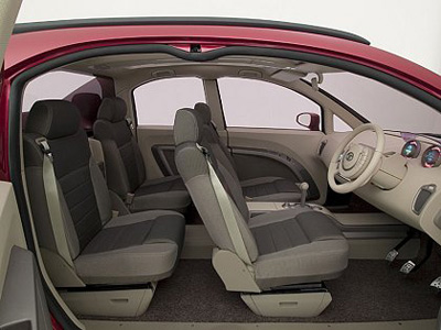 Tata Cliffrider interior
