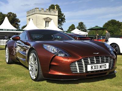 Amazing Aston Martin One 77