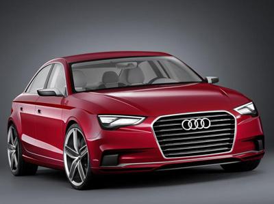 Audi A3 'Notchback Saloon' concept