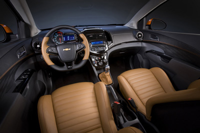Chevrolet Sonic Z-Spec interior