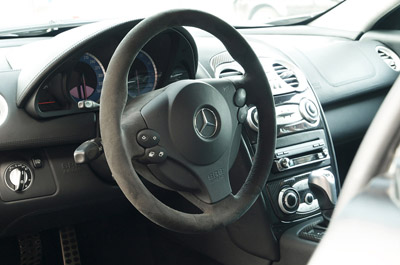 Edo Competition Mercedes-Benz Black Shadow interior