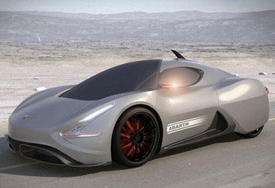 IED Abarth Scorp-ION concept car