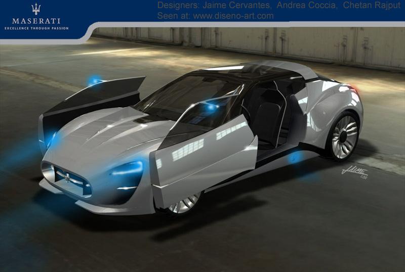 Maserati Gt Garbin 2020 Concept Cars Diseno Art