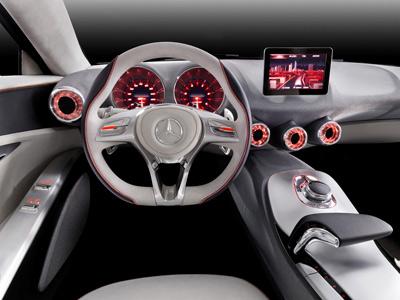 Mercedes benz concept a class concept cars diseno art for Interior mercedes clase a