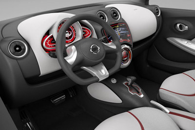 Nissan Compact Sport Concept interior