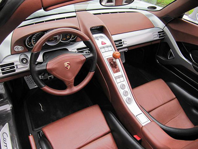 Porsche Carrera gt Interior Porsche Carrera gt Interior