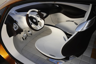 Renault R-Space interior