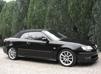 saab 9 3 aero convertible sports cars. Black Bedroom Furniture Sets. Home Design Ideas