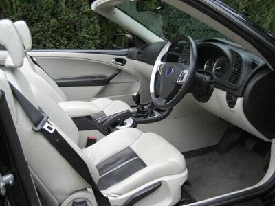 Saab 9 3 Aero Convertible Interior