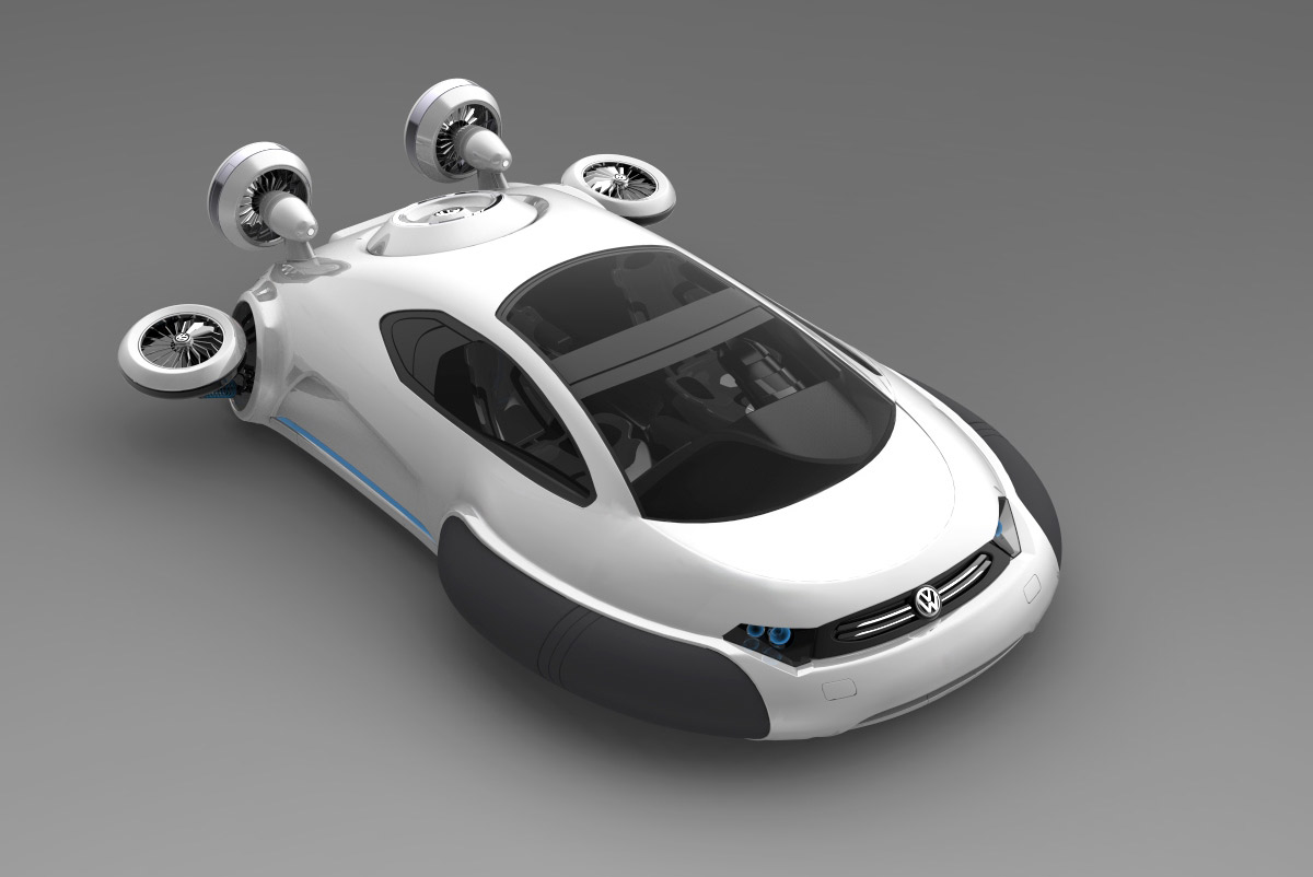 Gallery For > Volkswagen Hovercraft