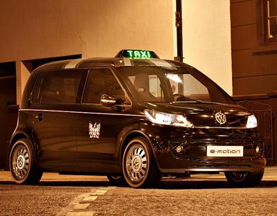Volkswagen London Taxi Concept Cars Diseno Art