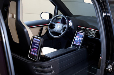 Volkswagen London Taxi Concept interior