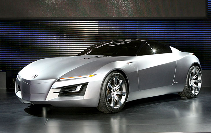 Acura Advanced Sports Car Concept Cars Diseno Art