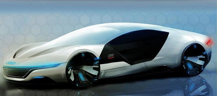 Audi A Concept Cars DisenoArt - Audi a9