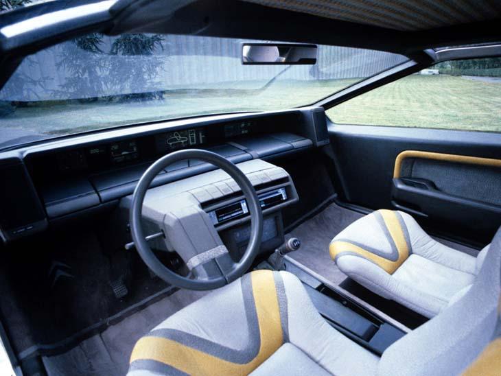 Citroen Zabrus concept interior