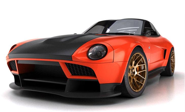 Datsun 240z Concept Concept Cars Diseno Art