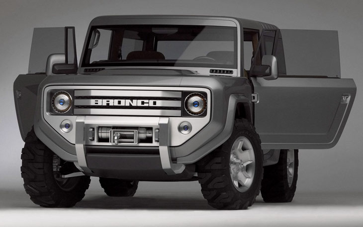 Ford Bronco | Concept Cars | Diseno-Art