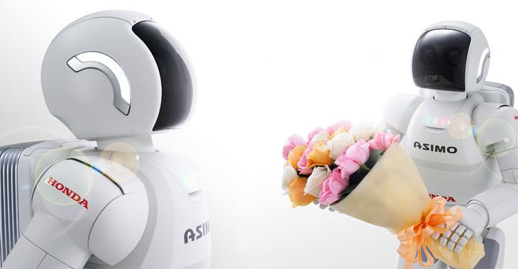 Robot Humanoide Honda Asimo Honda's Humanoid Robot