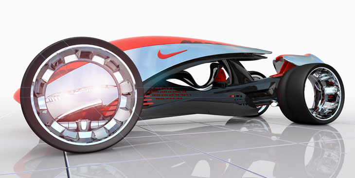 Nike ONE concept car
