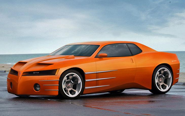 Pontiac Gto Concept Cars Diseno Art