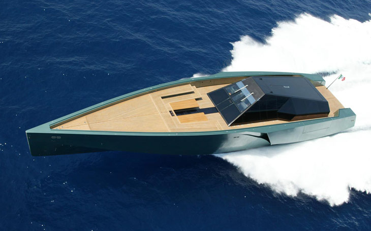 Wallypower 118 superyacht