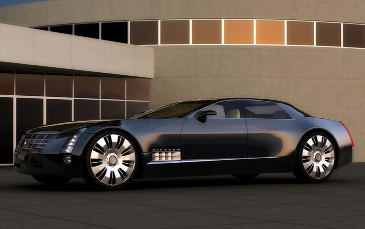 cadillac sixteen concept cars diseno art. Cars Review. Best American Auto & Cars Review