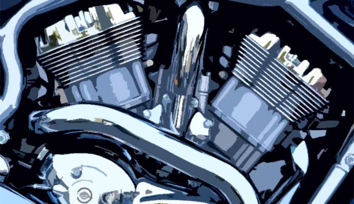 in bikes 4 stroke engine