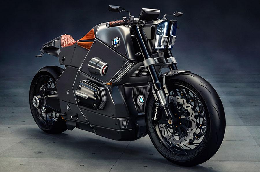 Viktoria Ignatyeva. Мотоцикл сочетает стиль... Кажется, такой мотоцикл был бы