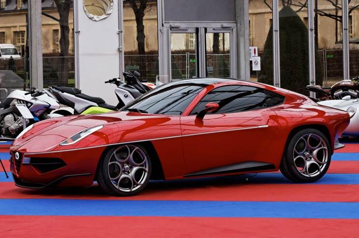 Alfa Romeo Disco Volante Concept Cars Diseno Art