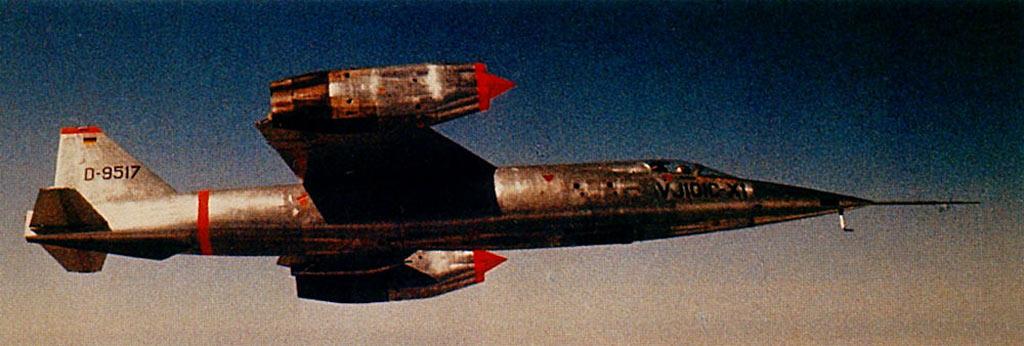 Ewr Vj 101 Supersonic Vtol Aircraft Strange Vehicles