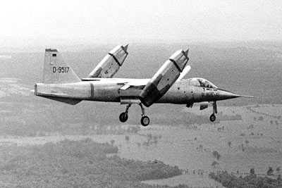 EWR VJ 101C supersonic VTOL aircraft