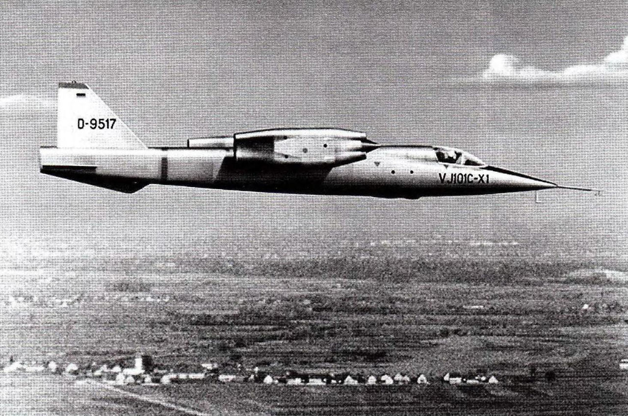 Ewr Vj 101 Supersonic Vtol Aircraft Strange Vehicles