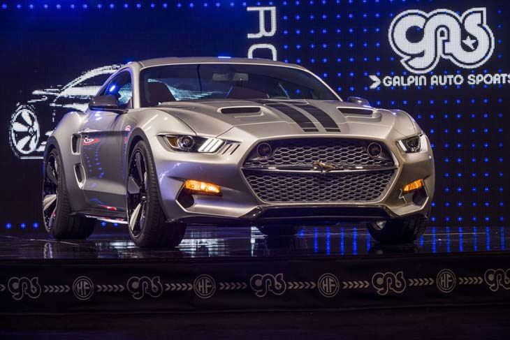 Galpin Auto Sports Fisker Rocket Ford Mustang