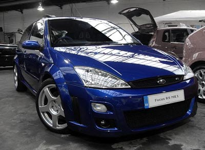2002 ford focus rs specs