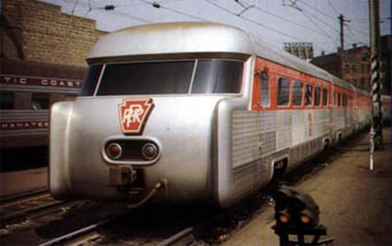 Gm Aerotrain Strange Vehicles Diseno Art