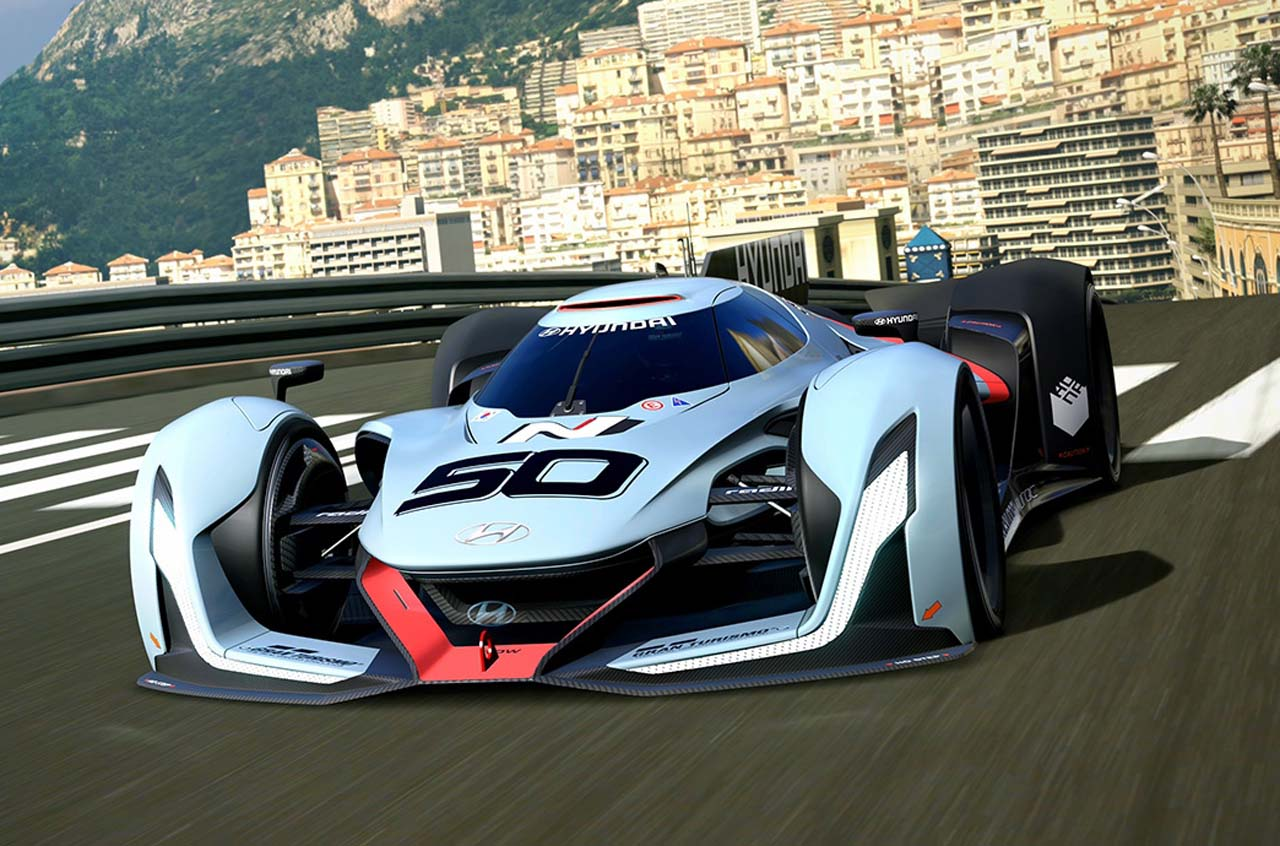 Hyundai N 2025 Vision Gran Turismo Concept Cars Diseno Art