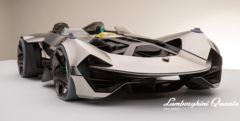 Lamborghini Quanta Concept Cars Diseno Art